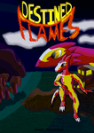Destined Flames -Main Cover- by SpeedComics