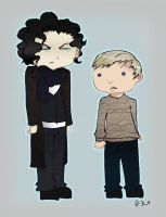 Sherlock and John by Airafleeza