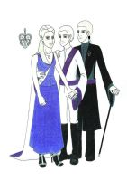 The Malfoy Family by Rotae