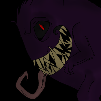 Gengar by LassiTheDawg
