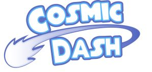 Cosmic Dash Logo by hpkomic