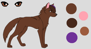 Fursona Ref. by Ayleia-The-Kitty
