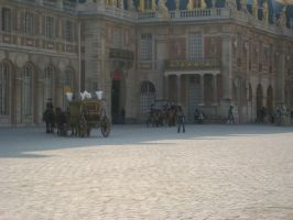 Versailles Palace People by simfonic
