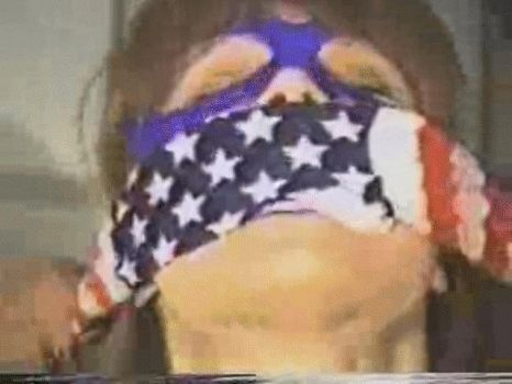 Spellbinder, You can't gag her with a flag!? by TheAnonymousBondageG