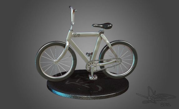 3D Bicycle by TheZakMan