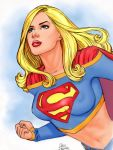 Supergirl 2 by Dave Hoover by Mythical-Mommy