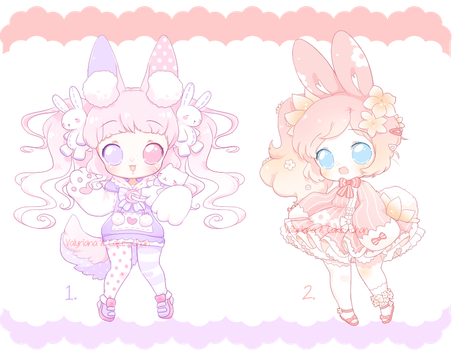 CLOSED Collab Adopts with Cake--chan! by Valyriana