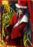 Merry christmas- Undertaker by FuriarossaAndMimma
