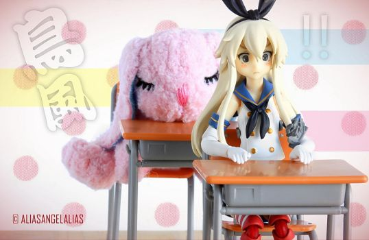Shimakaze from KanColle by figma 03 by aliasangel2005