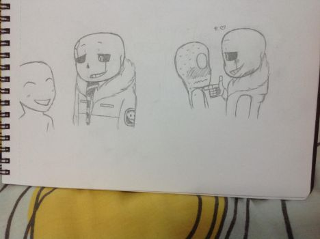 Gaster Sans x Anonymous by JaneMineMultion