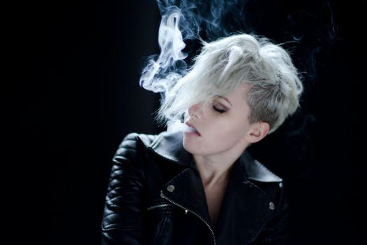 Smoke and Leather by Meluxine