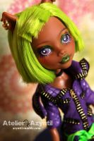 Monster High: Dance 'Til Dawn Clawdeen by Azyntil