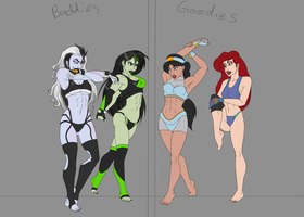 Disney girls, ongoing work by VeXeDZERO