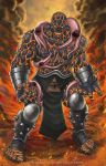 Commission: The Thing of Fear Itself by johnbecaro