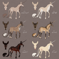 Festive Fawnling Designs 2014: Batch 2 by TigressDesign