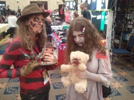 Girl Freddy and Emily by ThatOtherFangirl