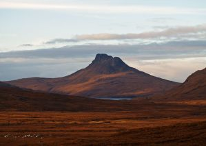 Stac Pollaidh sunset by piglet365