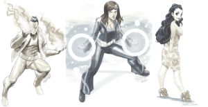 Vault Sketches 1 by Robaato