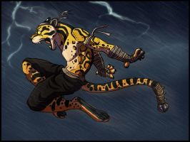 Muay Thai by AnnieHyena