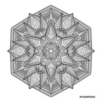 Mandala hand drawing 53 by Mandala-Jim