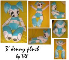 XL Jenny plush by teenagerobotfan777