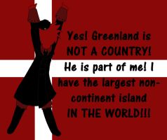 Denmark owns Greenland aph by Coyoteclaw11