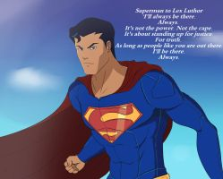 Superman by Gearfreed