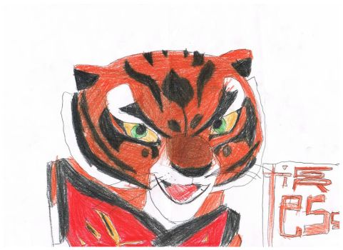 awesome master tigress by francescatigress