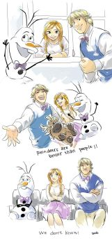 Making of Frozen by godohelp
