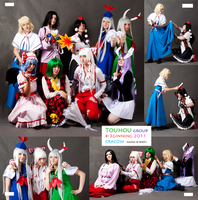Touhou Cosplay B-3 2011 by Wilkoak