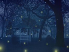 Fireflies Wallpaper by Peaches5189