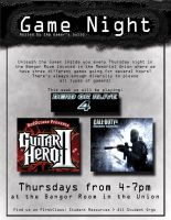 Game Night Flyer by Sh4d0w-W01f
