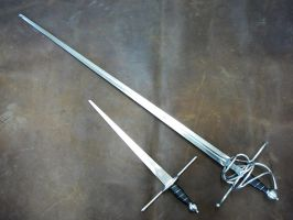 Sidesword and Dagger set by Danelli-Armouries