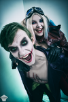 Harley and Joker (Injustice 2) by ThePuddins