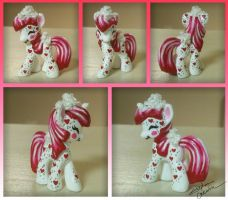 Mini MLP Valentine Custom by StephanieCassataArt