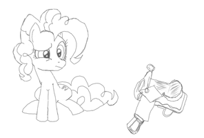 Saddle? What's That? - EqD NATG Day 3 by FeralDrive