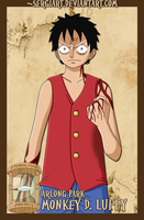 EPP - Arlong Park: Luffy by SergiART