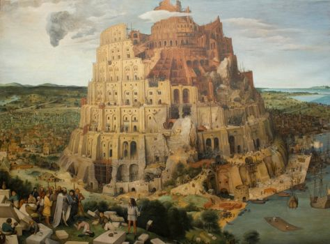 Me in Bruegel's Tower of Babel by boykokolev