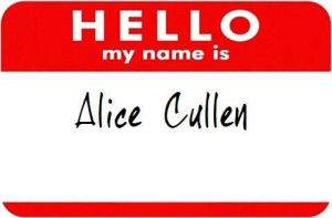Hello, my name is Alice Cullen by isabellamarieswanc