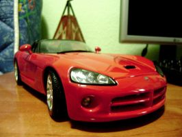 dodge viper sr-t 10 2003 scale 1 18 by EnriqueGomez