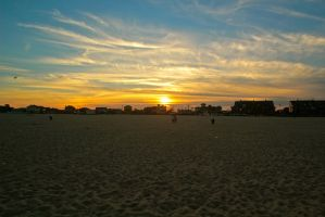 Point Pleasant Sunset by Justateen10