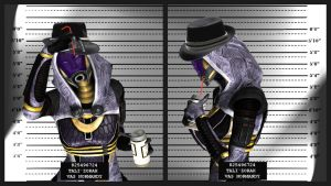 Mugshot - Tali by The-JoeBlack