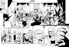 Avengers sample page by JulienHB