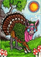 Ultimate Thanksgiving Chimera by lemurkat