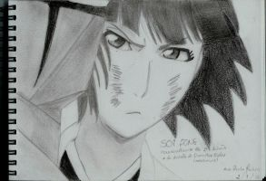 Bleach drawings - soifong by mangaslover
