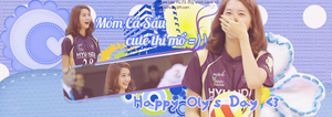 [11.09.2103] YoonA - HPBD To Oly [Cover Facebook] by chutchi54