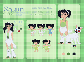 SAYURI Character Reference and Biography by NattiKay
