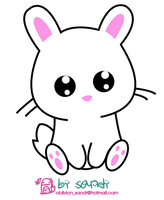 Kawaii Bunny by Sandy-Oblivion
