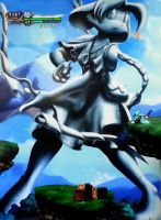 Dust: An Elysian Tail: Archer Girl Statue by LysanderxX