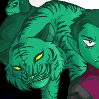 The Many Faces of Beast Boy by redkitty7